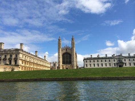 Vista del King´s College desde un punt