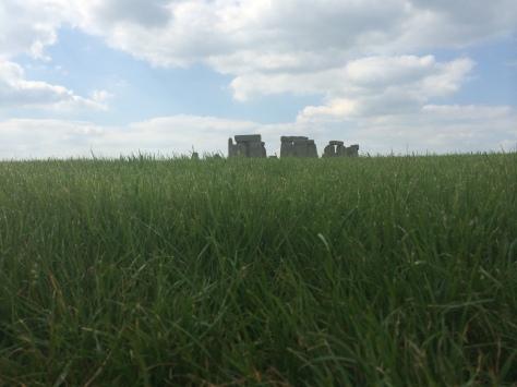 El monumento y el entorno te trasladan al final de neolítico