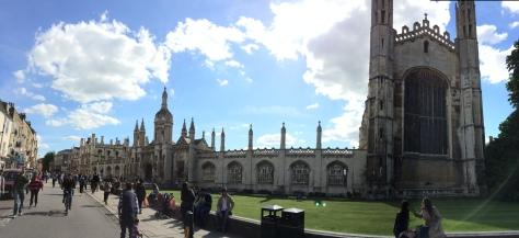 El Kíng´s College en pleno centro histórico de Cambridge