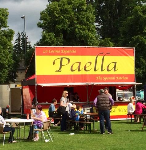 Puesto de Paella