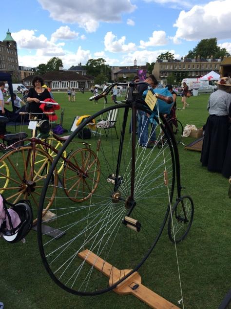 Muestra de Bicicletas Clásicas en Parker's Piece