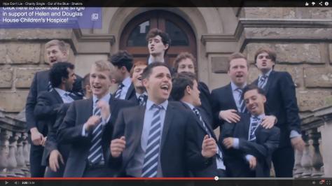Los chicos de Oxford versionan a Shakira