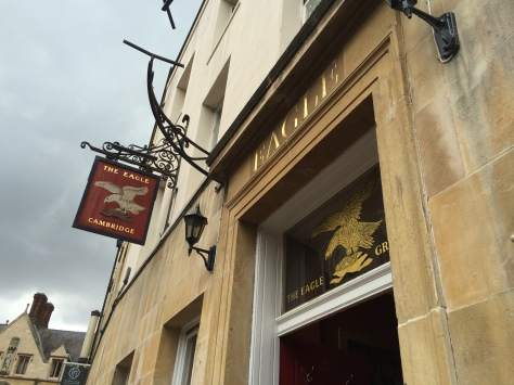 The Eagle, un pub en el ADN de Cambridge