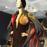 Bolero de plumas con el que Dana Internacional ganó Eurovisión 1998