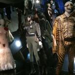 el trabajo de Gaultier para las películas de Almodovar, La Piel Que Habito, Kika y La Mala Educación.
