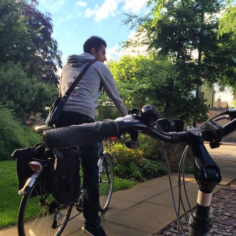 Tener una bici en Cambridge es mucho más práctico que tener un deportivo.
