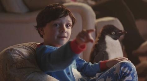 Sam y el pingüino Monty han conseguido enternecer  a millones de ingleses.