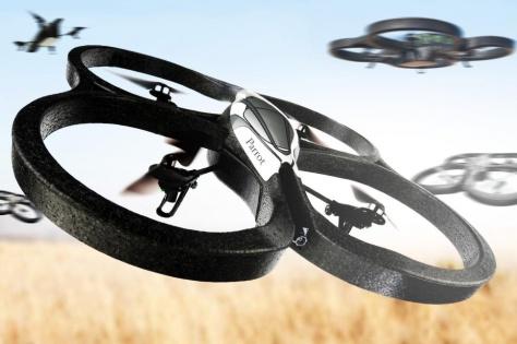 Parrot es una de las principales marcas de drones domésticos y profesionales.