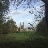 Un paseo desde 'The Backs' ofrece unas vistas espectaculares del College.