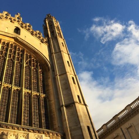 Detalle de la espectacular capilla del King's College.