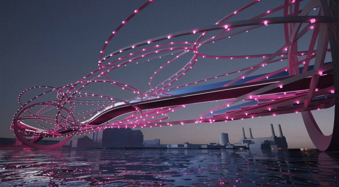 Propuestas que rozan la ciencia ficción para un nuevo puente en el centro de Londres