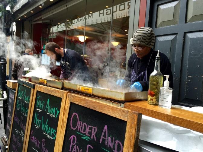 Londres se llena de sabores cuando paseas por Borough Market