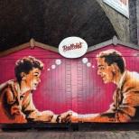 Una muestra de arte urbano en Camden. En este caso el autor es Sr. X.