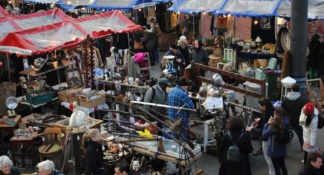 Un mercado distinto cada día de la semana. Photo: www.oldspitalfieldsmarket.com