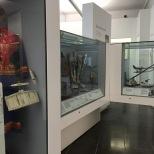 Más elementos de la exposición en el recinto.