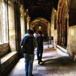 Un de los pasillos escenario de Harry Potter.